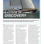 Cim Article Discovery Yachts Scott Bader CIm Magazine Sept 2012 issue pages 14 and 16