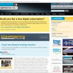Composites World website Clean Filament Winding Technology PR coverage