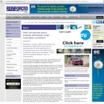 GMS Composites March 2013 Reinforced Plastics website coverage of rally car tough epoxy prepreg application
