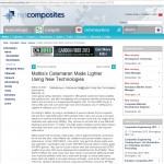 Netcomposites website Resintex Tech Mattia Yachts Infusion application story