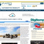 Plastics Today website coverage May 2012  - GMS Composites article on Out of Autoclave epoxy prepreg for FR 1 sports car