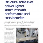 Reinforced Plastics magazine Jan Feb 2012 issue  Scott BAder Adhesives case study article